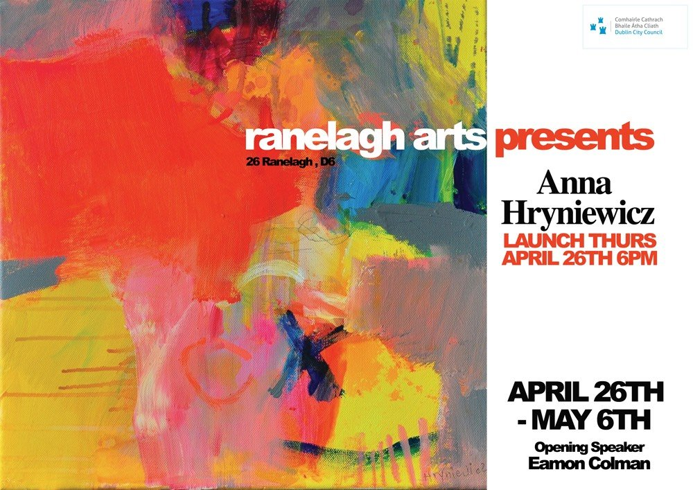 Anna Hryniewicz solo show opening by Eamon Colman